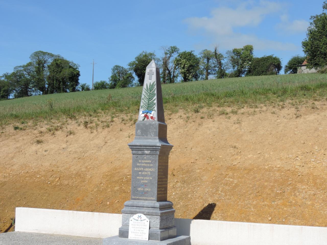 Mars 2017 - Le monument aux morts